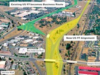 Highway 97 Changes Advance