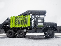 Buy the Pray for Snow Truck, Help with Fire Relief