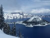 Exploring Crater Lake's Winter Wonderland