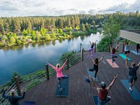 A Guide to Outdoor Yoga this Summer