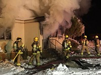 Sisters House Fire Destroys Home
