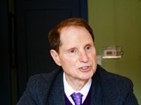 Senator Ron Wyden Stops by the Source