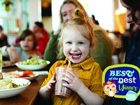 Best Kid's Menu and Best Family Restaurant