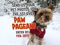 First Annual Paw Pageant