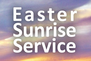 Easter Sunrise Service at Pilot Butte