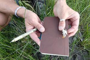 Nature Journaling, Camp Polk Meadow Preserve