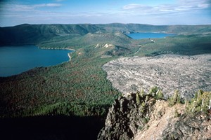 """Central Oregon Geoscience Society 2019 Speaker Series - A New Look at """"Old"""" Tuffs from Newberry Volcano - Jeff Templeton, Western Oregon University"""