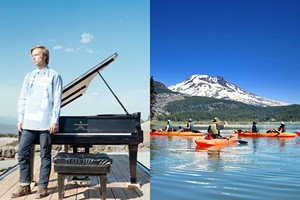 In A Landscape: Mt Bachelor Performance & Paddling Tour with Wanderlust Tours