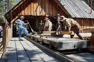 Miller Ranch Sawmill Demonstration