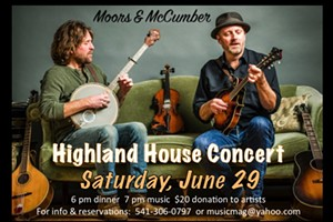 Moors & McCumber House Concert