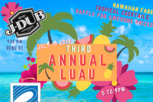 3rd Annual J-Dub Luau benefiting The Surfrider Foundation
