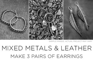 Jewelry Making - Mixed Metals and Leather