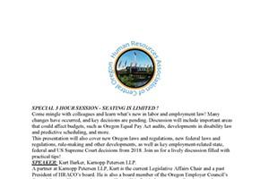 2019 Legislative Updates