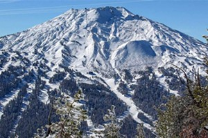 Should Mt. Bachelor expect the same amount of snowfall it saw last year?