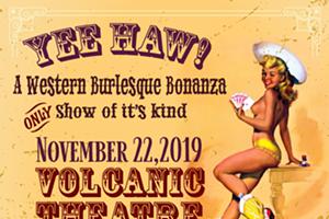 Yee-Haw! A Western Burlesque Bonanza