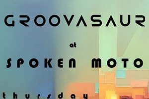 Groovasaur at Spoken Moto