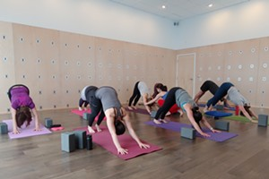 Vinyasa and Vino Mom's Night