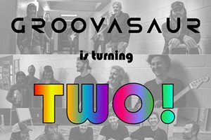 Groovasaur Turns 2 Years Old!