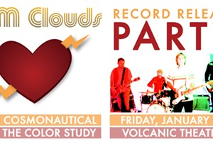 AM Clouds Record Release with Cosmonautical & Color Study