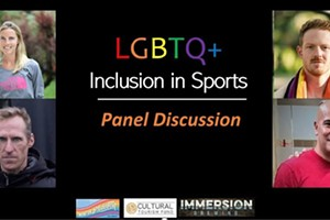 Winter PrideFest: LGBTQ+ Inclusion in Sports Panel Discussion