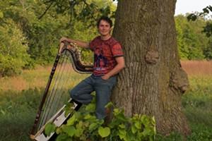 Latin American Harpist Nicolas Carter
