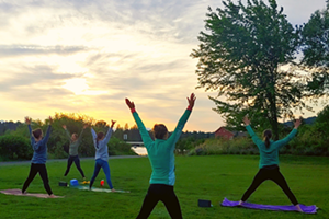 Outdoor Vinyasa + Vino Women't Event