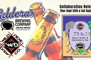 Caldera Brewing and Wild Ride Brewing Collaboration Beer Release Party at Wild Ride!