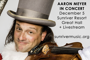Sunriver Music Festival presents concert rock violinist Aaron Meyer