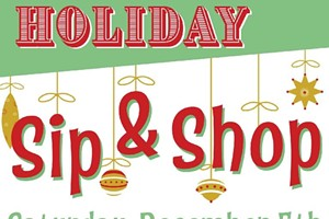 Holiday Sip & Shop