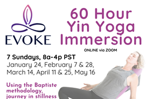 60 Hour Yin Yoga Immersion