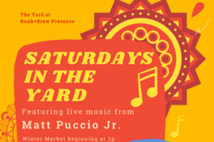 Bunk+Brew Presents: Saturdays in the Yard with Matt Puccio Jr.
