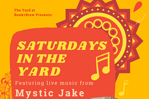 Bunk+Brew Presents: Saturdays in the Yard with Mystic Jake - Live Music!