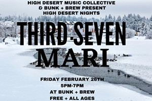High Desert Nights @ Bunk+Brew - Live Music with Mari Auna & Third Seven!