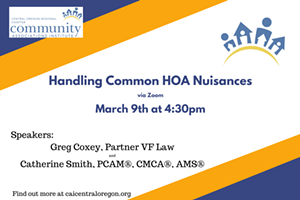 Handling Common HOA Nuisances