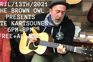 An Evening with Pete Kartsounes