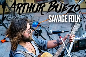 Saturdays in The Yard with Arthur Buezo- LIVE FOLK MUSIC!