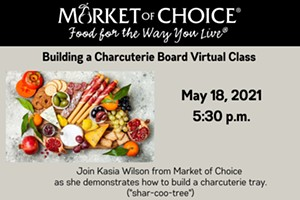 Market of Choice-Building a Charcuterie Board Virtual Class