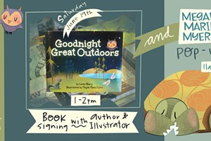 Goodnight Great Outdoors Book Signing + pop up at Dudley's