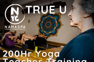 TRUE U Namaspa 200hr Yoga Teacher Training
