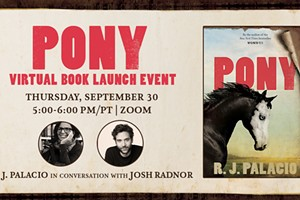 RJ Palacio & Josh Radnor Virtual Event