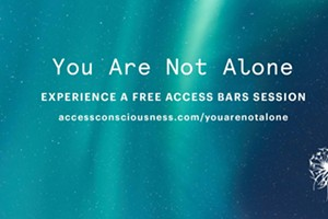 You Are Not Alone: Walk In Access Bars Sessions
