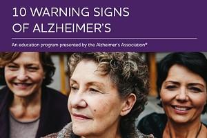 10 Warning Signs of Alzheimer's