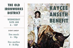 A Benefit for Local Artist, Kaycee Anseth