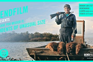 "BendFilm presents ""Rodents of Unusual Size"""