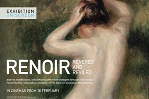 """Exhibition on Screen: """"Renoir - Revered and Reviled"""""""