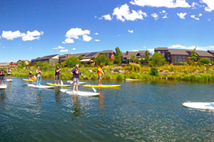 Basic Skills Paddleboarding on the Deschutes River