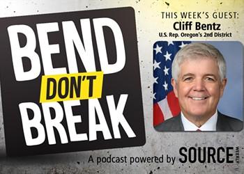 Listen: Oregon's U.S. Rep Cliff Bentz Condemns the Violence at the Capitol 🎧