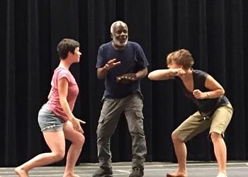 Sneak Peek: Rehearsal for Shakespeare in the Park