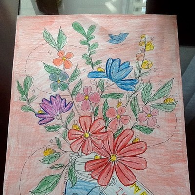 Mother's Day Coloring Contest