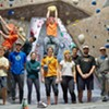 Student Climbers Ascend New Heights